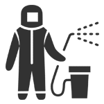 disinfection service icon